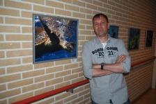 Kamper onderwaterfotograaf exposeert in Elburg