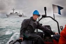 Marine houdt rekening met leven in zee
