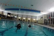 Michael van Dijk – SSI Scuba Skills Update zwembadduik