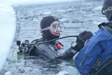 Petra Zondervan – IJsduikexpeditie 2015