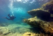 Hans van de Hee – Duiken bij Coral Bay (Cyprus)