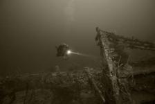 Duik op een spookschip