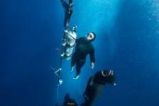 Hoe klaart een freediver?
