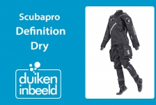Droogpakken 2019 – Scubapro Definition Dry