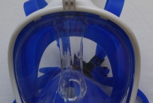 Snorkeling mask test: Siliber Blue