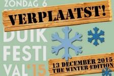 Duikfestival verplaatst naar 13 december