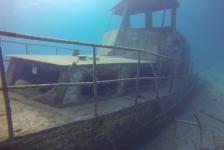 Leendert Oosse – Het wrak bij Mangel Halto, Aruba
