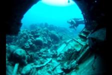 Het vliegtuigwrak van Curaçao