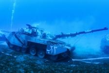 Eerste militair onderwatermuseum in Jordanië