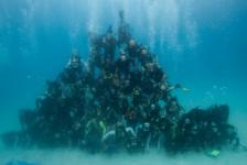 Aronnax bouwt grootste onderwaterpiramide