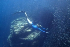 Minicompetitie Freediving op 11 oktober
