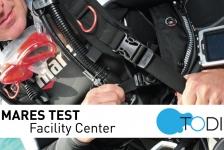 Gratis Mares duikmaterialen testen bij TODI