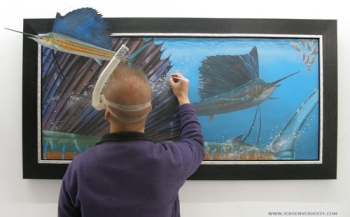 Jeroen Verhoeff, een kunstenaar apart
