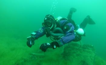 Brenda de Vries - Duiken met een sidemount rebreather