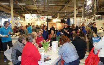 Afwisselend programma op Belgische Duiksportbeurs