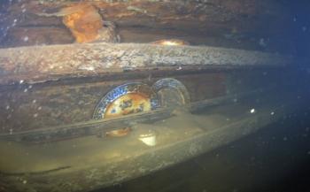 HMS Terror ligt al 170 jaar onaangetast op de zeebodem