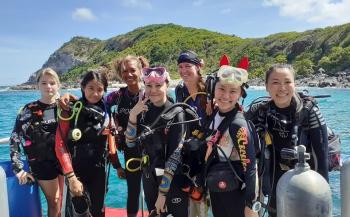 In beeld: Women's Dive Day 2019