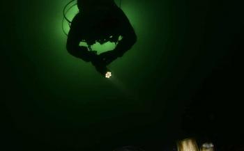 ONK Onderwaterfotografie 2017 - Top 10 Groothoek met duiker