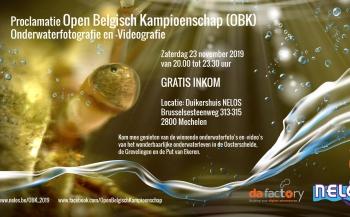 Proclamatie Open Belgisch Kampioenen