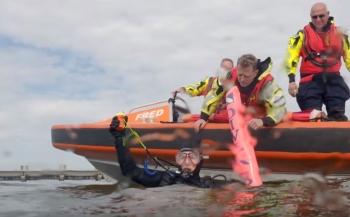 ONK Onderwatervideo 2018 - KNRM zoekt duiker van Bas Brand