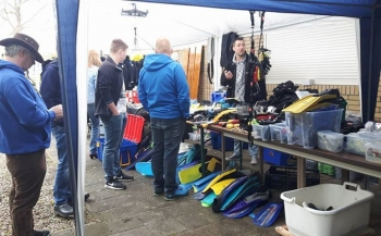 Duikmarkt in Dronten op 22 april