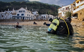 Jurjen Balkema - Winterduiken aan de Costa Brava