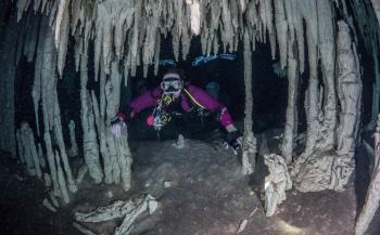 Brenda de Vries - Cenote Nohoch Na Chich Mexico
