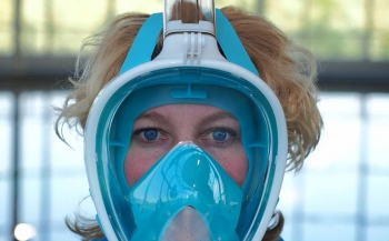 Test snorkelmaskers: Puluz Freebreath