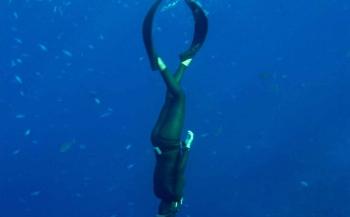 Freediven op de DFA-dag