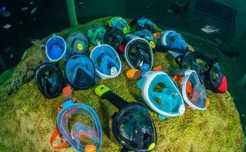 Test snorkelmaskers 2018