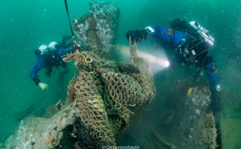 Ghost Fishing identificeert noordzeewrak 'Rode Poon'