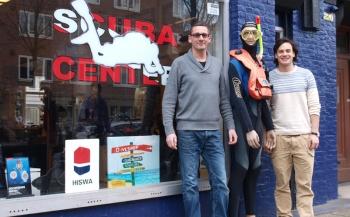 Scuba Center Amsterdam ruimt op