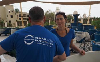 Winnares Nataschja duikt in milieubescherming tijdens klimaatexpeditie