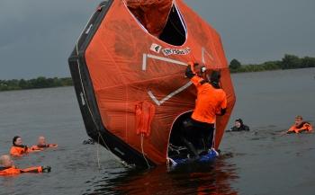 Training Survival at Sea bij Scuba-Academie