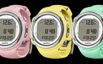 Drie heerlijke kleurvarianten voor de Suunto D4i Novo