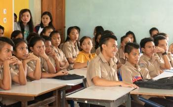Stem voor het scholenproject van Thalassa