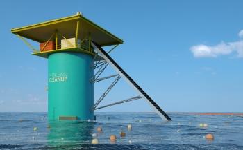 Stukje Noordzee toegewezen voor test door The Ocean Cleanup