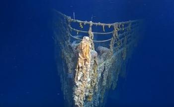 Titanic gaat hard achteruit