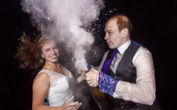 Bruidspaar onder water - Het verhaal achter de foto