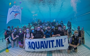Bas Kulderij - Duikvereniging Aquavit 30 jaar