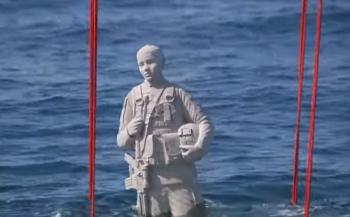 Onderwatermonument voor veteranen