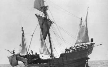 Vlaggenschip van Columbus ontdekt