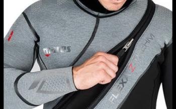 Mares Flexa Z-Therm - de ultieme benadering van halfdroge duikpakken