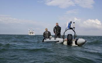 Marineduiker Barry over zijn eerste duikinzet
