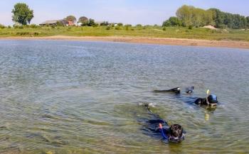 Snorkelen in de Millingerwaard