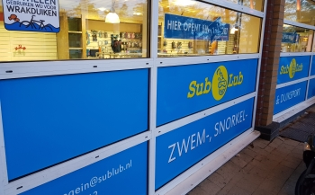 Nieuwe duikwinkel in Nieuwegein