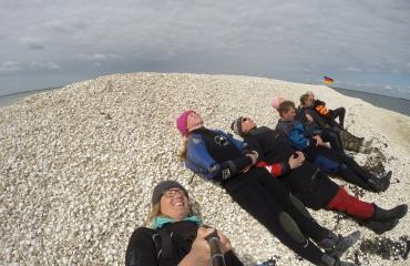 Mirjam van der Sanden - Dagje varen en duiken met de Balena