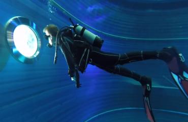 Steven Stegeman- Triton 12, indoor duiken
