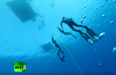 In beeld: Dying to dive