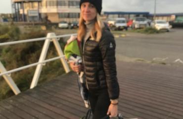 Marlies Zwart - Herfstduik op de Noordzee